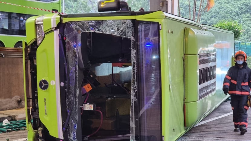 Bukit Batok bus collision: Most of those hospitalised have been discharged, 4 remain warded