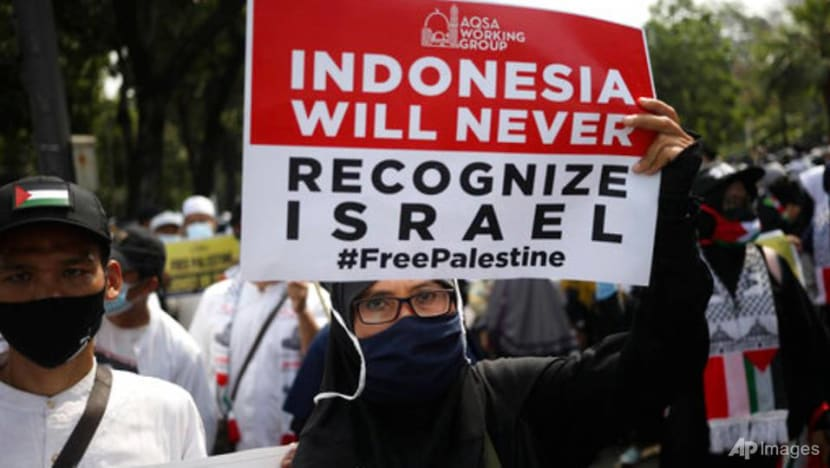 Commentary: In Indonesia, Gaza conflict is fodder for politicians hoping to score points