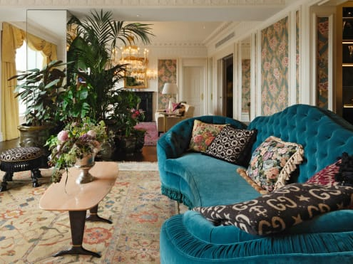 What it's like staying in a S$30,000 hotel suite, decorated by Gucci