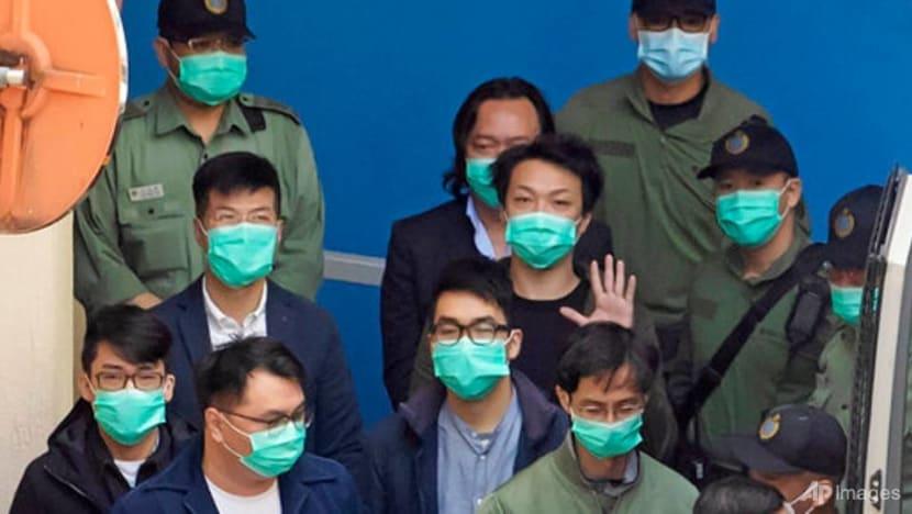 Hong Kong democracy activists' bail hearing enters third day