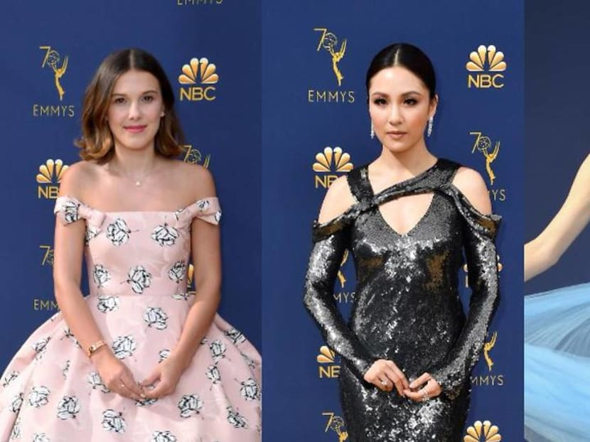 Which celebrities deserved a spot on our cheeky Emmy Awards fashion take-down?