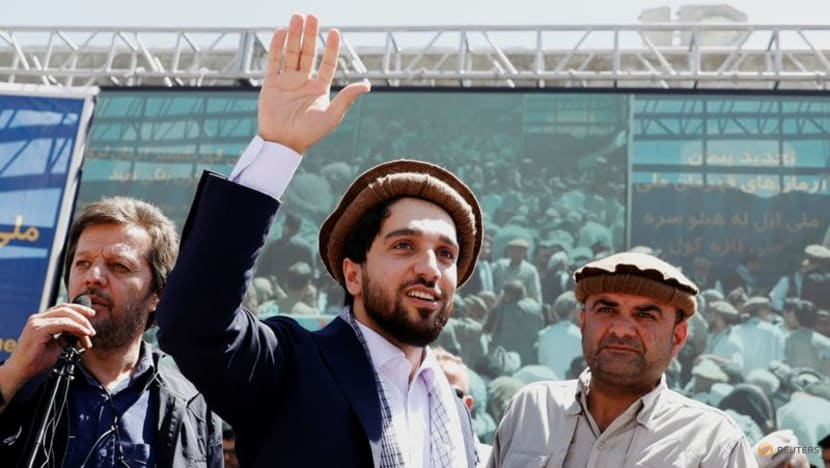 Afghan opposition leader Massoud says he is ready for talks with Taliban