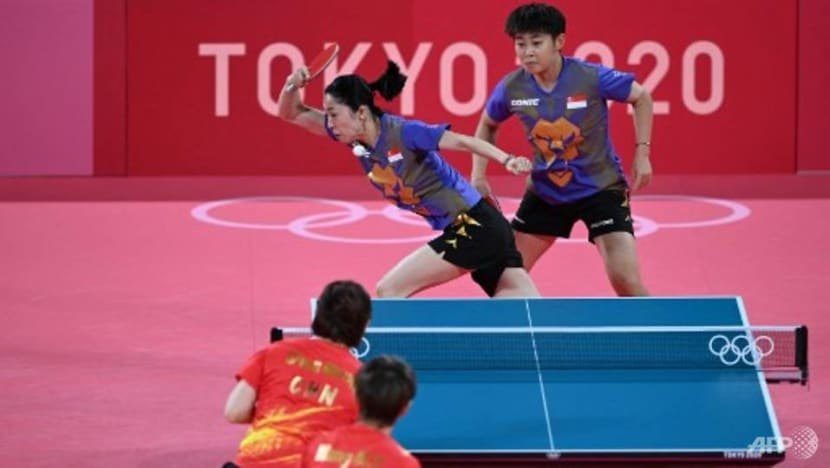 Table tennis: Singapore's women's team ends Tokyo Olympics campaign with quarter-final defeat to China