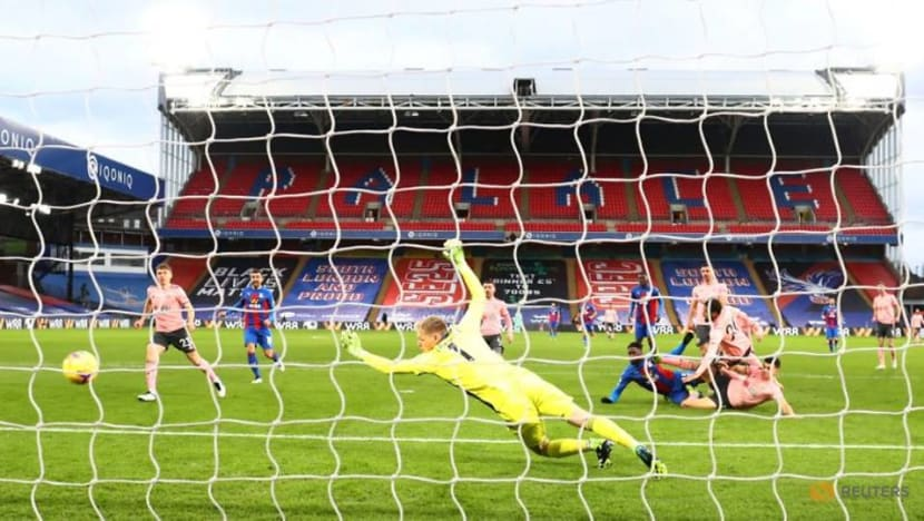 Football: Palace return to winning ways with 2-0 victory over Blades