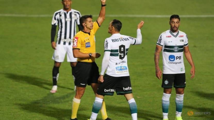 Santos move up Serie A with 2-1 win over Coritiba