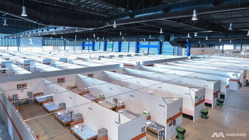 COVID-19: Behind the scenes at the Changi Exhibition Centre community isolation facility