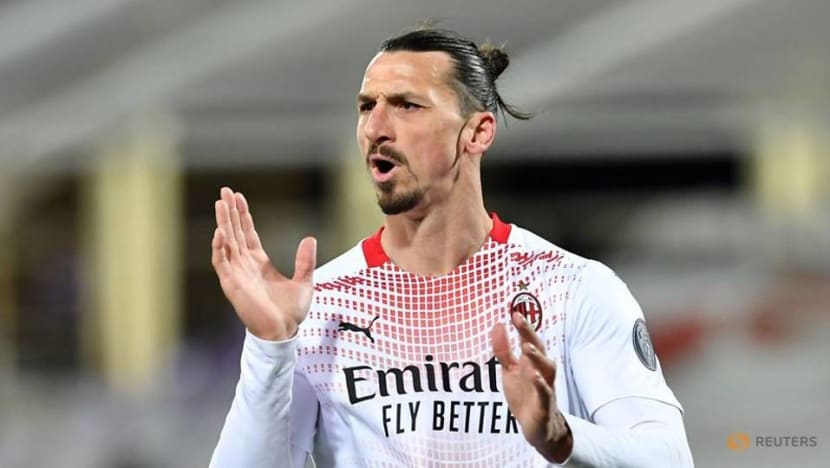 Football: Ibrahimovic makes history as AC Milan edge Fiorentina thriller