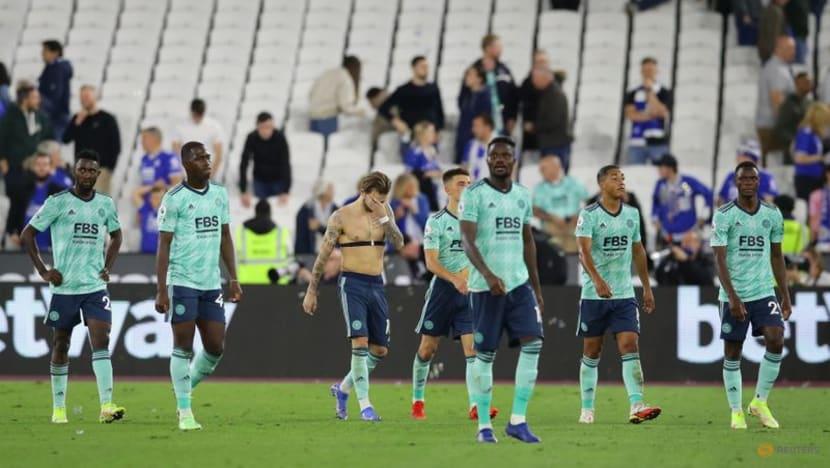 Football: Antonio double helps West Ham sink 10-man Leicester