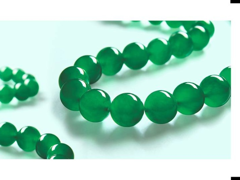 What makes this jadeite necklace worth a whopping S$14.4 million?