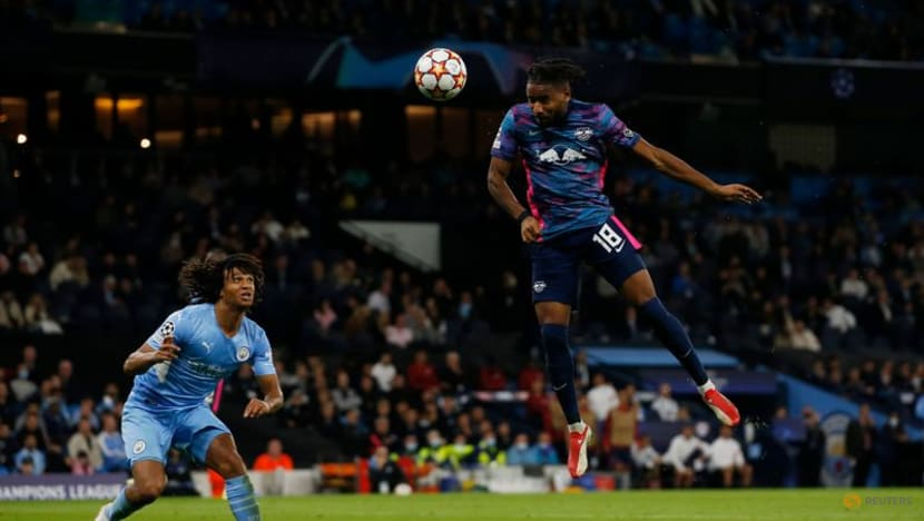 Football: Man City survive Nkunku hat-trick to overwhelm Leipzig 6-3