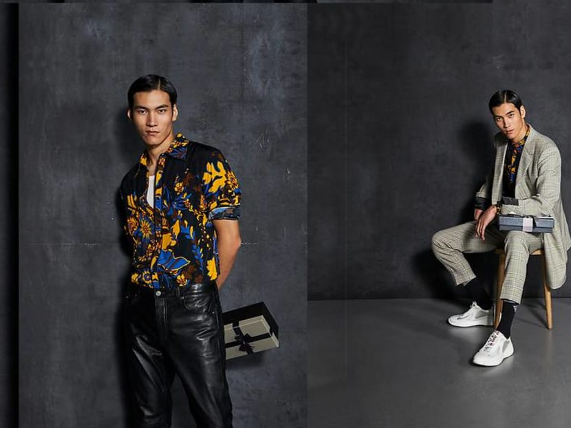The printed shirt takes you from street casual to cocktail formal this party season