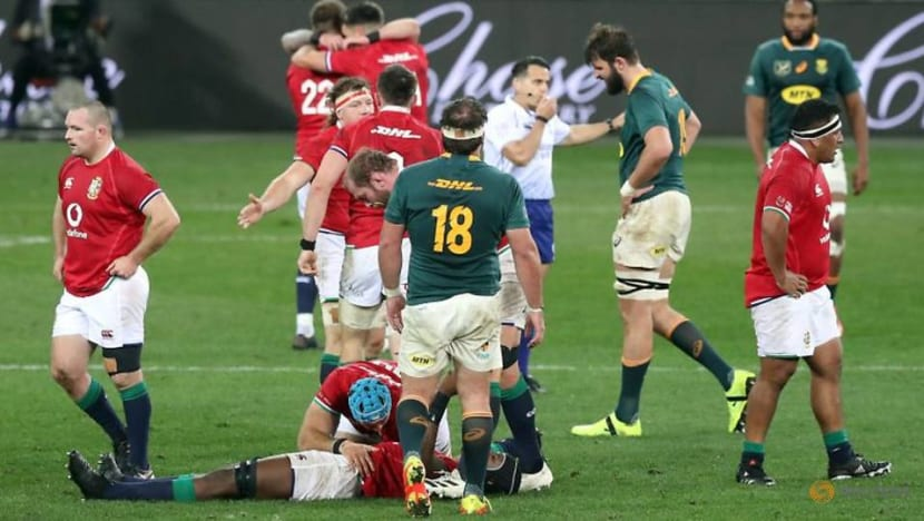 Rugby-South Africa name team to take on British & Irish Lions
