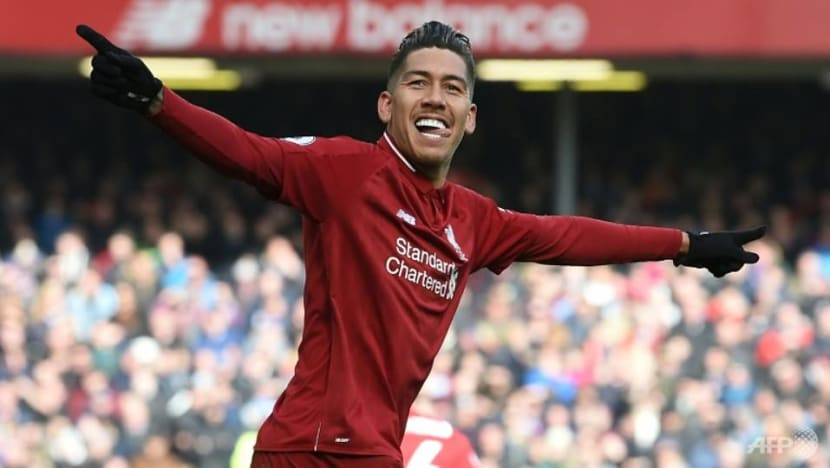 Football: Liverpool upbeat over Firmino's fitness to face Barcelona
