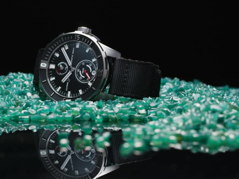 From sea to wrist: This watch strap is made entirely from recycled fishing nets