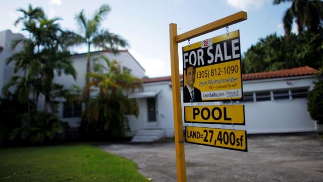 美国二手房屋销量止跌回升 房价中位数攀升逾23%