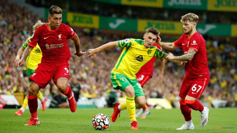 Football: Liverpool condemn homophobic chants aimed at Norwich's Gilmour