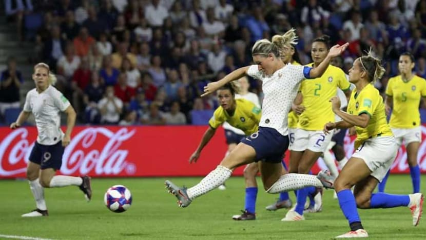 Football: Hosts France beat Brazil in extra time to reach Women's World Cup quarters