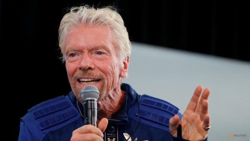 Virgin Galactic falls as billionaire Branson sells stake worth US$300 million