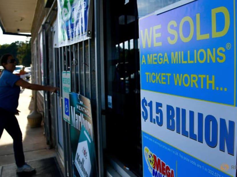 No winner for US's Christmas Mega Millions, jackpot grows to S$477 million