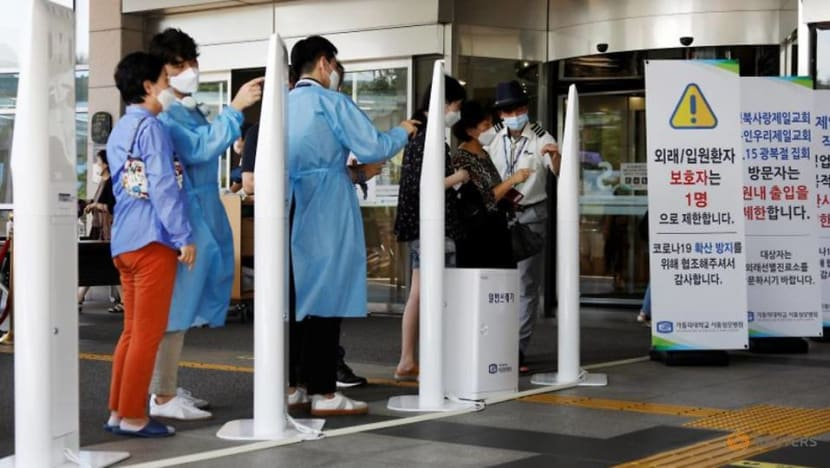 Surge in South Korea COVID-19 cases sparks hospital bed shortage concerns