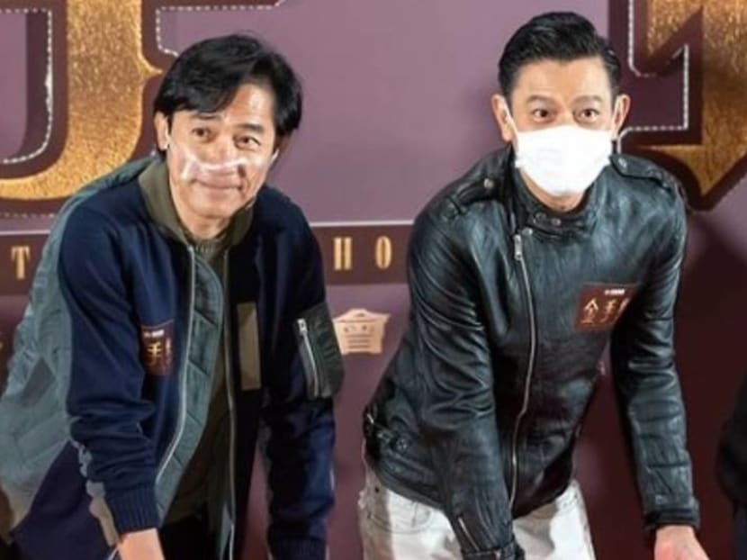 Andy Lau and Tony Leung to star in new action movie Goldfinger