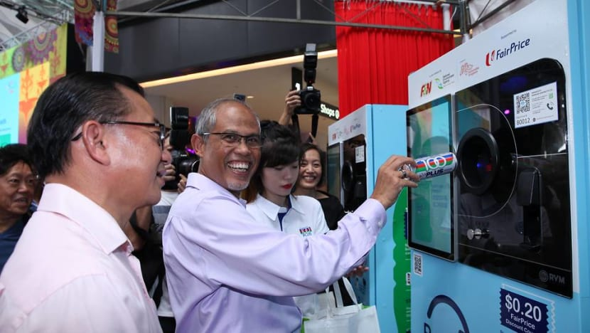 Done with your drink? Dump it in a 'reverse vending machine' and earn grocery vouchers