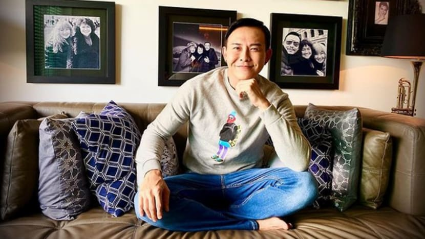 Bryan Wong celebrates his 50th birthday by posting a 'birthday suit' selfie