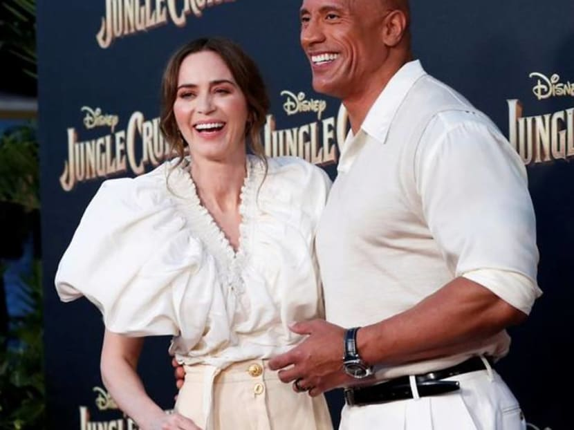 Dwayne Johnson and Emily Blunt's Jungle Cruise docks with US$34m in US theatres