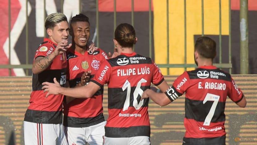 Football: Bruno Henrique strikes again as Flamengo beat Sport 2-0