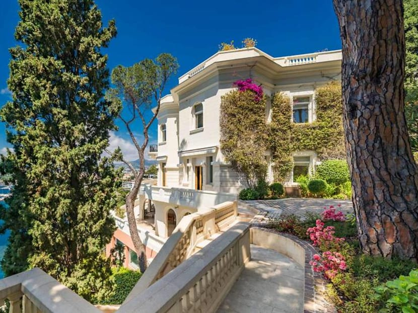 Take a peek inside Sean Connery's US$33.9 million villa on the French Riviera