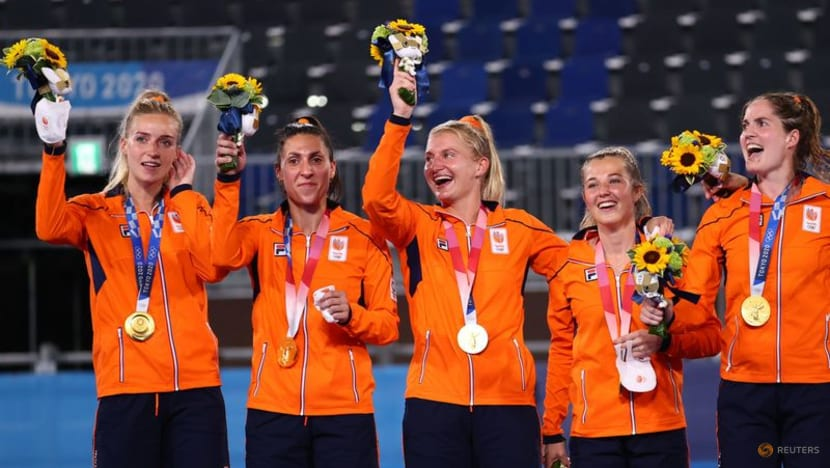 Olympics-Hockey-Netherlands claim gold with 3-1 victory over Argentina