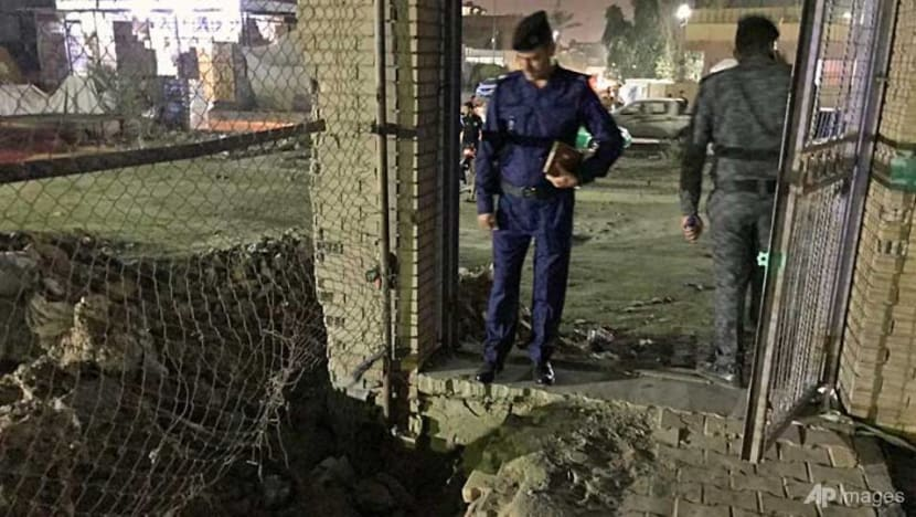 At least eight dead in Baghdad suicide bombing