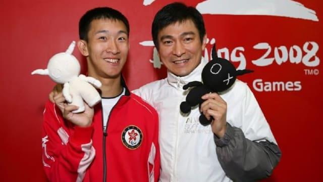 刘德华乐善好施 默默帮助残奥运动员25年