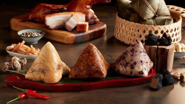 乐天饮食集团推粽子礼品组 各种口味一次拥有!