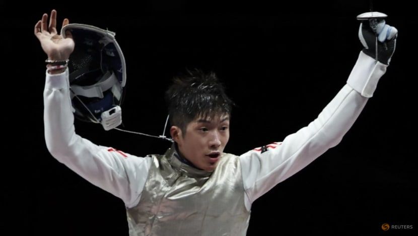 REVIEW-Olympics-Fencing-Upsets, protests, and proposals at Tokyo 2020