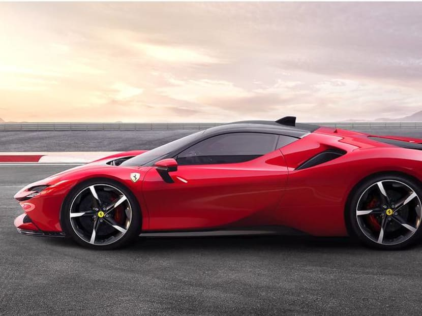 The SF90 Stradale is Ferrari's most powerful – and it's an electric car