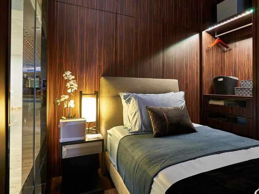 Power naps in private suites are now available at Capitol Piazza