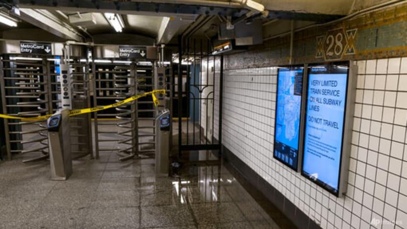 Ida's record rain floods New York-area homes, subways; at least 26 dead