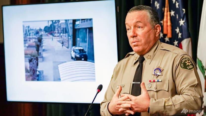 Man charged in ambush shooting of LA deputies condemned by Trump, Biden