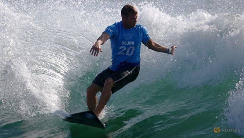 Surfers ride wave of emotion to make Olympic history