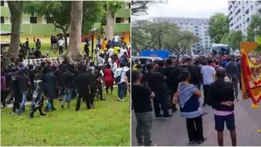 Man arrested for disorderly behaviour at funeral in Boon Lay