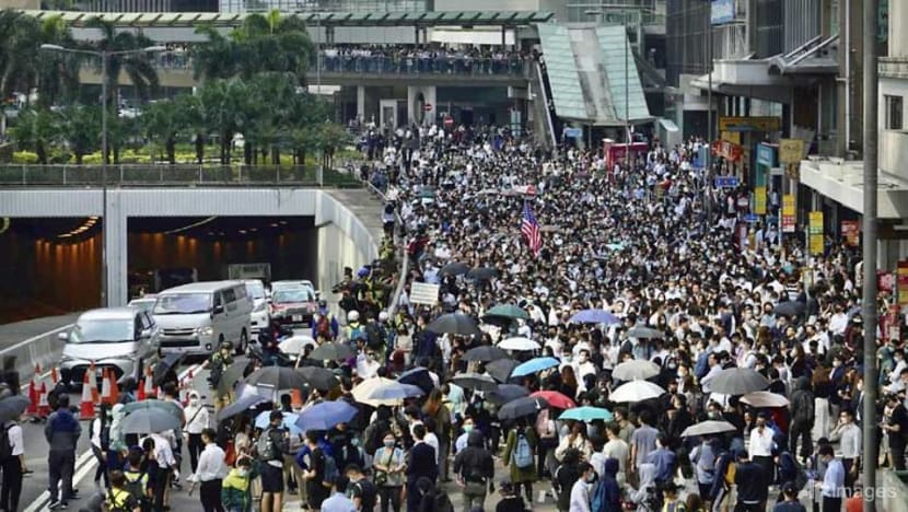 Hong Kong protesters threaten 'one country, two systems' principle: President Xi