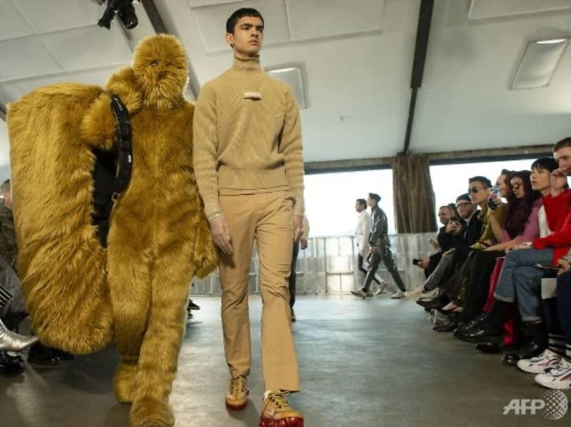 Pikachu, monsters and horror films as London's Fashion Week for men wraps up