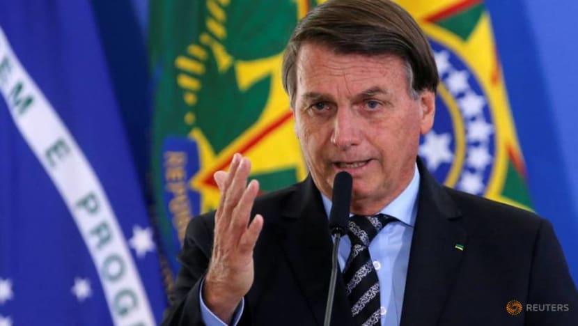 Brazil's Bolsonaro says he will not take COVID-19 vaccine
