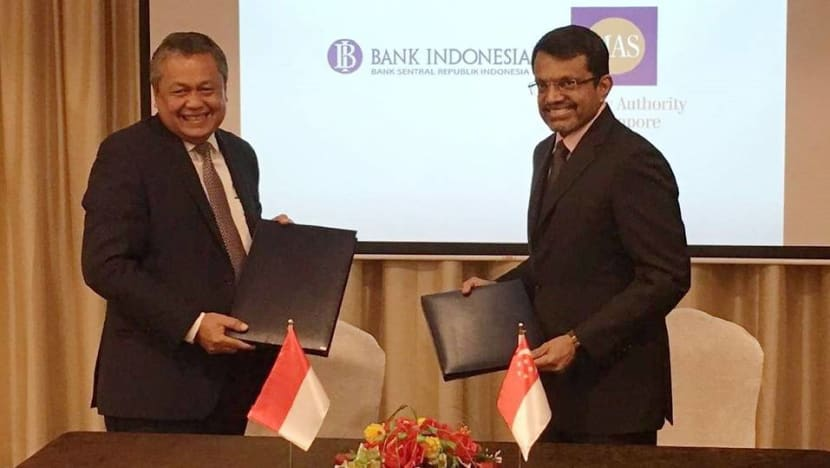 MAS, Bank Indonesia set up US$10 billion bilateral financial arrangement
