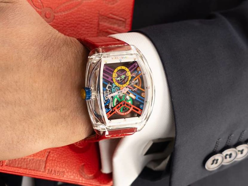 Somewhere over the rainbow, watchmakers want to add colour to your life