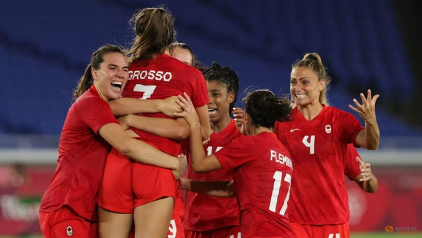 Football: Canada take women's gold after shootout win over Sweden