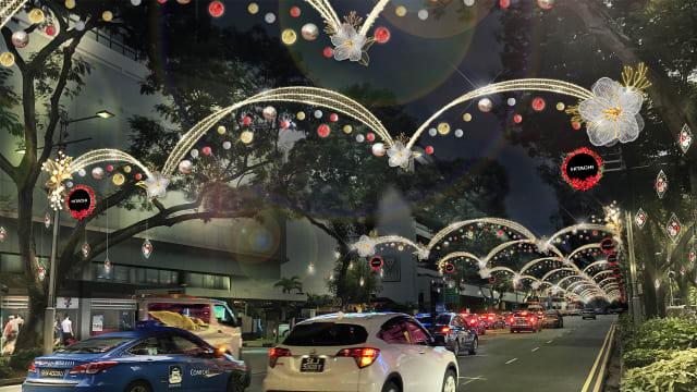 """到乌节路的""""花花世界""""过圣诞!"""