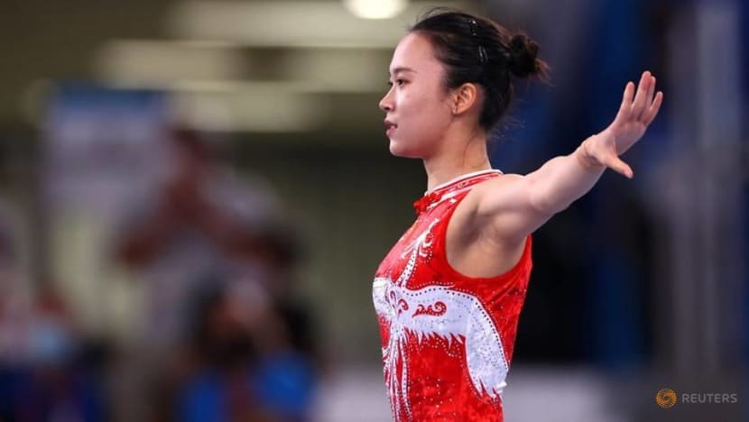 Olympics-Zhu leads China one-two in women's trampoline