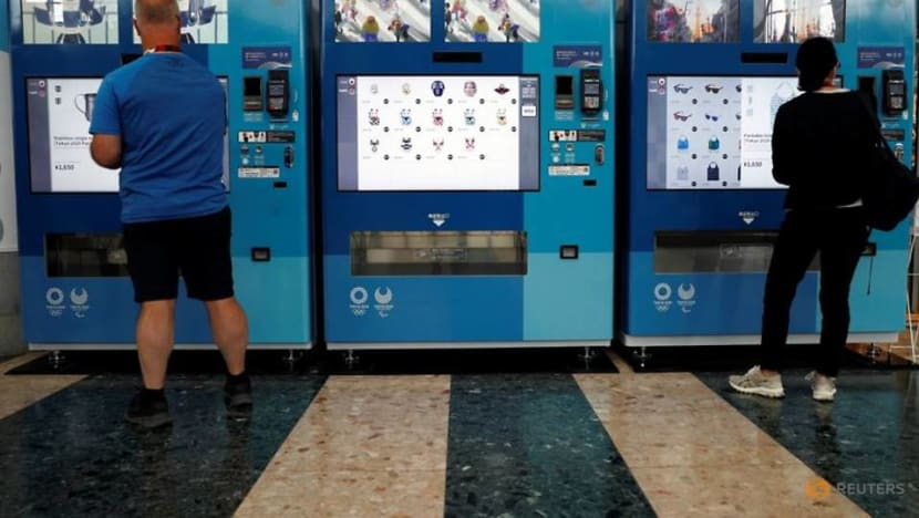 Buyers can skip the lines with souvenir vending machines